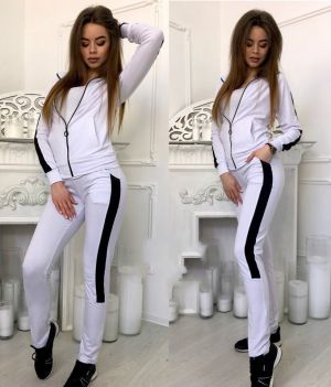 ZOGAA 2019 New Women Outfits Two Piece Set Top and Pants Sportswear Tracksuit Women's Sweatsuit Fashion Clothing Sets Cl