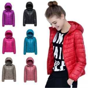 2019 New 27 colors Spring Parka Jacket Coat Warm Ultra Light Duck Down Padded Jacke Female Overcoat Slim Solid Coat Wome